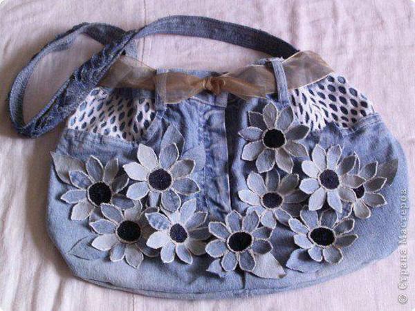 bolsa de tela con solapa