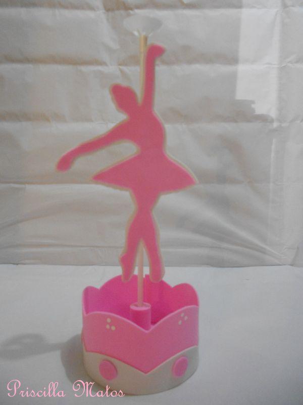 pieza central de bailarina
