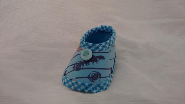 zapato eva azul
