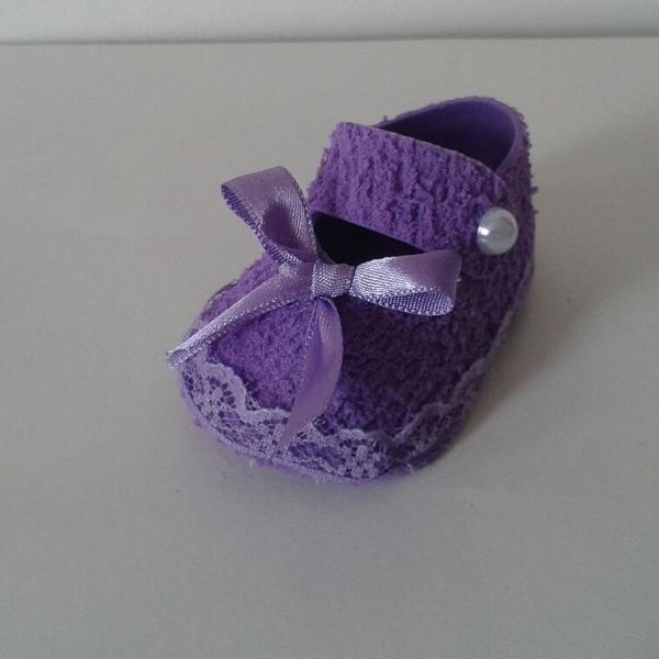 zapato eva púrpura