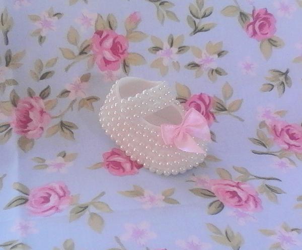 zapato de perlas eva