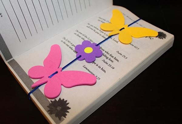 marcador de mariposa