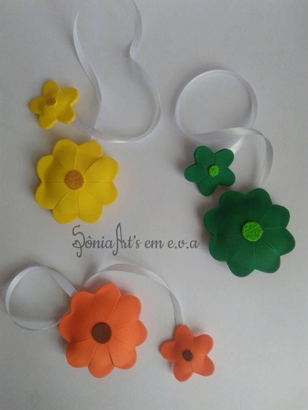 marcador en flor eva