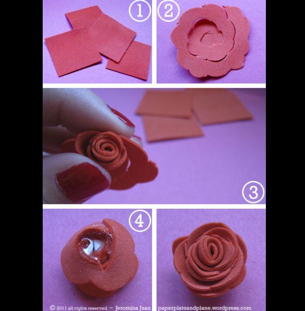 flor rosa eva