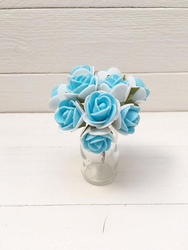 flor rosa eva azul