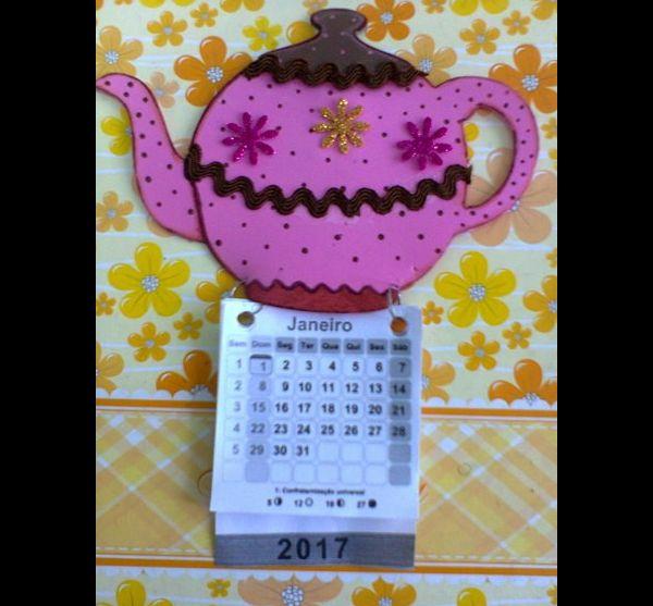 Titular de calendario EVA