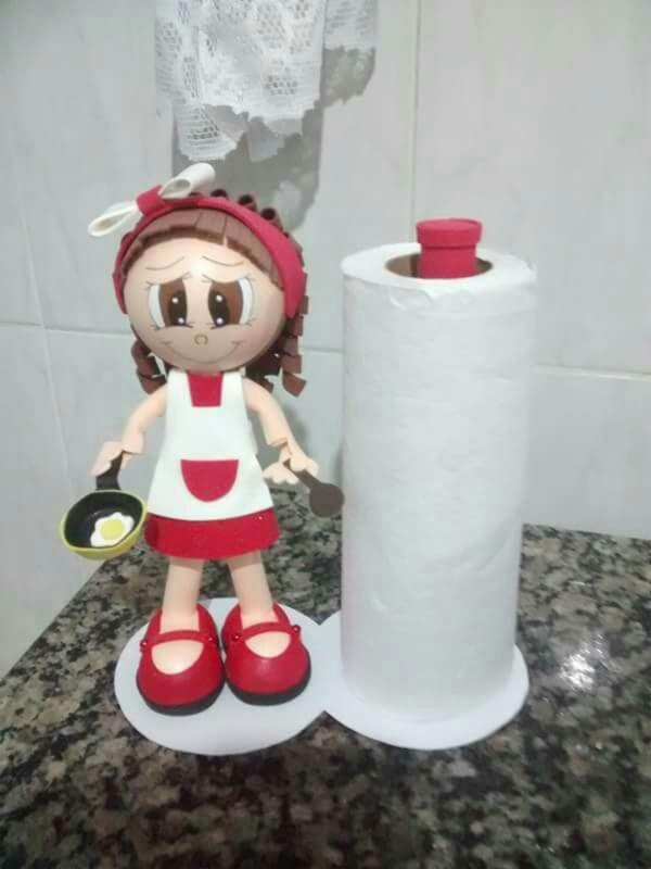 Porta toallas de papel EVA
