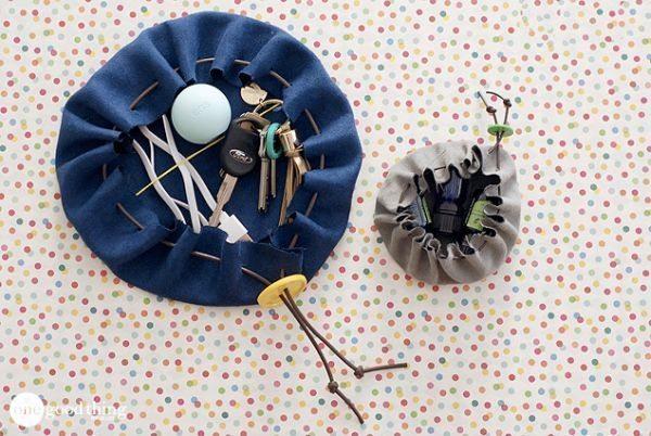 Los bolsos para llaveros son encantadores y útiles (Foto: onegoodthingbyjillee.com)