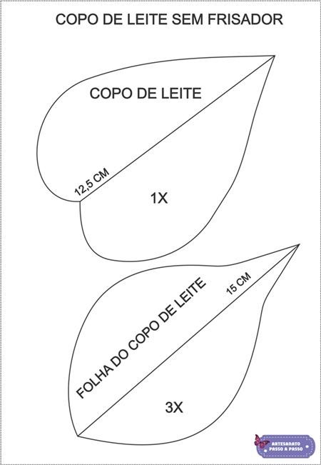 PLANTILLA DE FLOR DE EVA