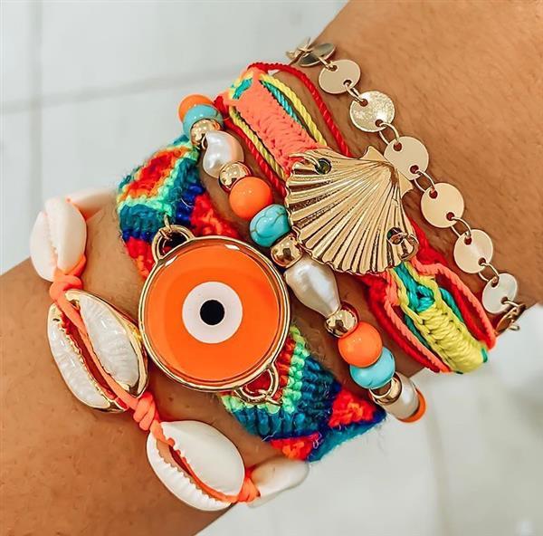 conjunto de pulseras