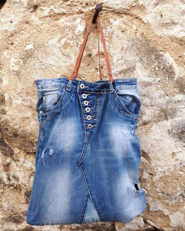bolso de jeans