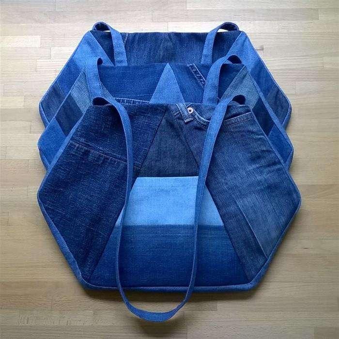 bolso de jeans para mujer