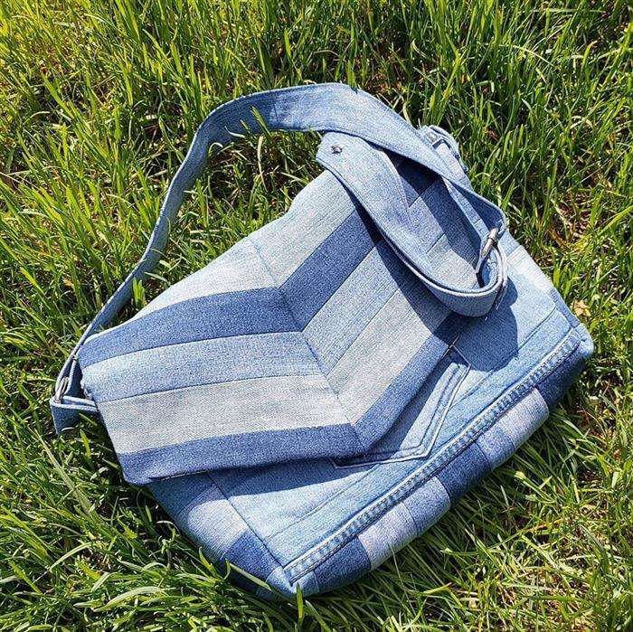 colores de la bolsa de jeans
