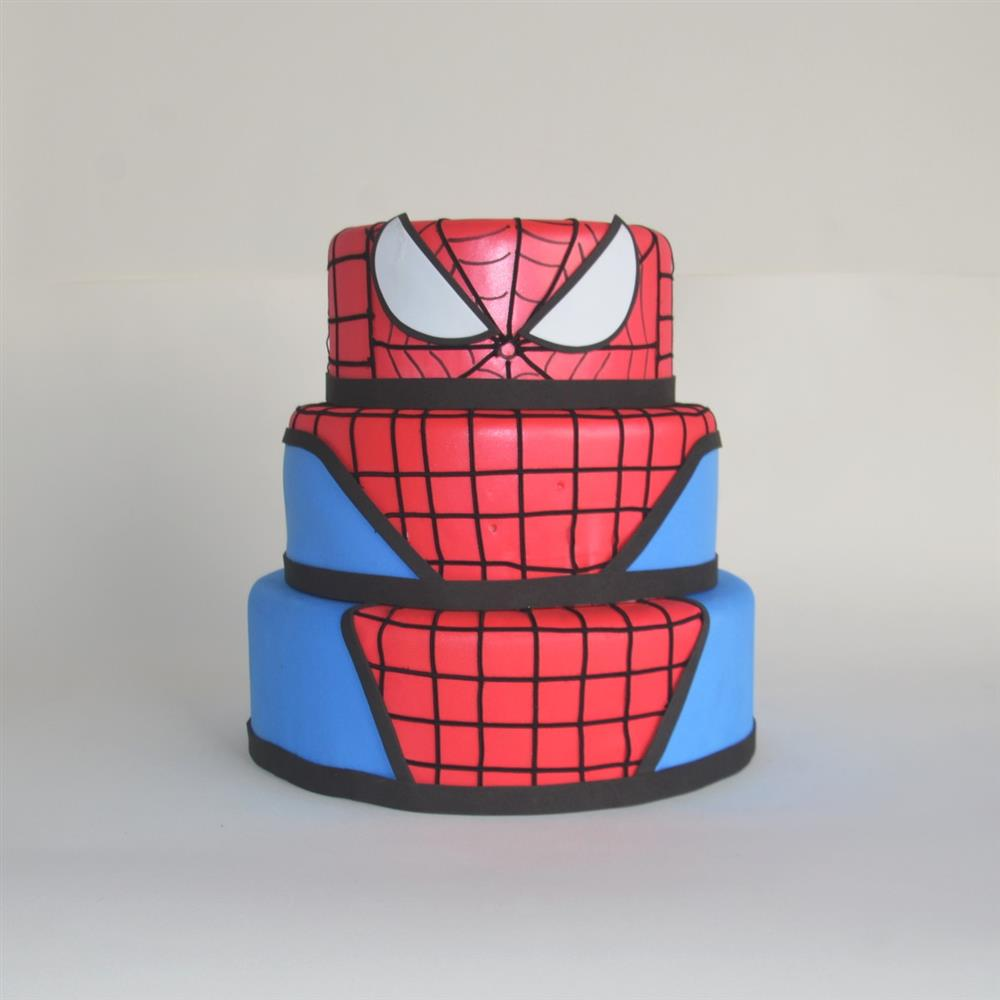 pastel falso de Spiderman