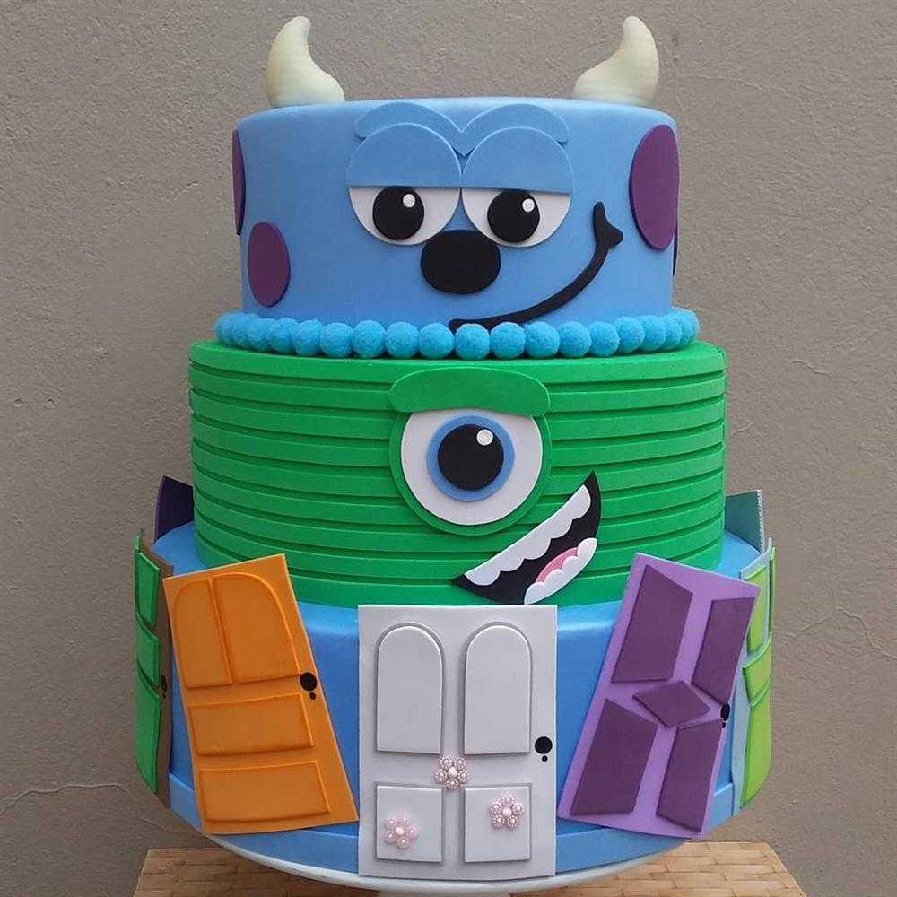 pastel falso monstruos sa