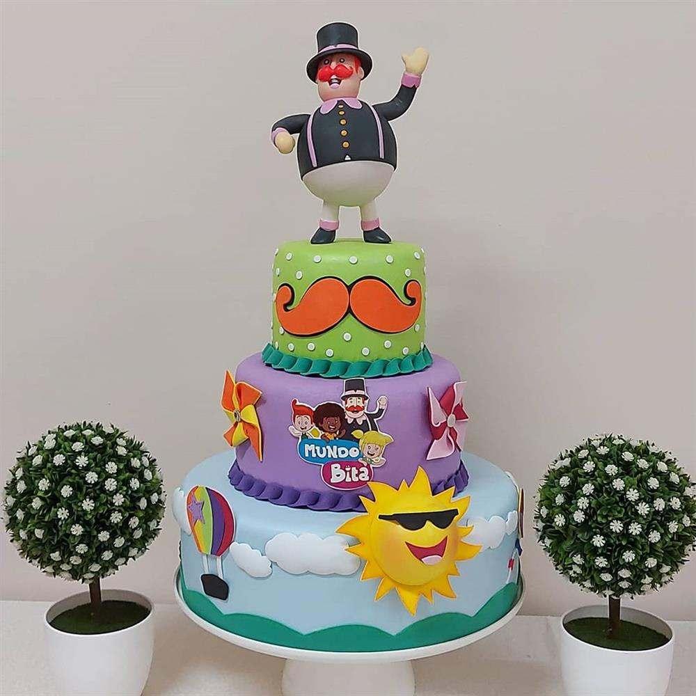 torta del mundo falso