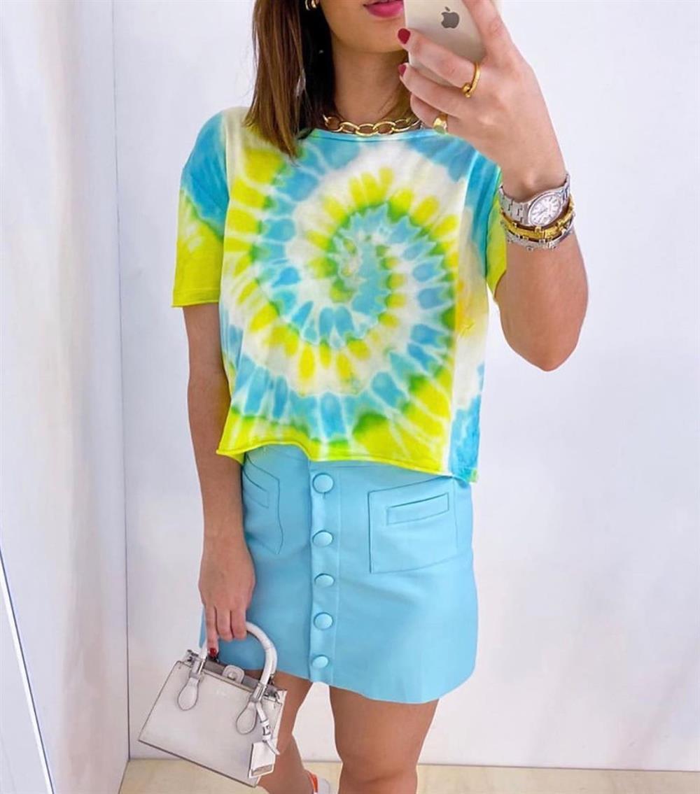 camiseta tie dye paso a paso