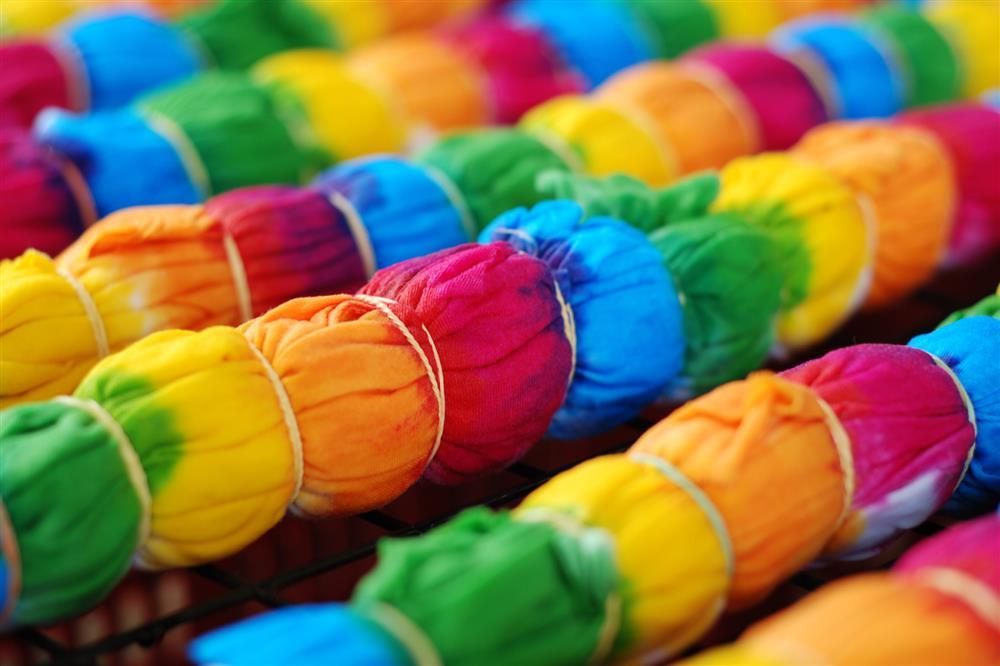 técnica de tie dye
