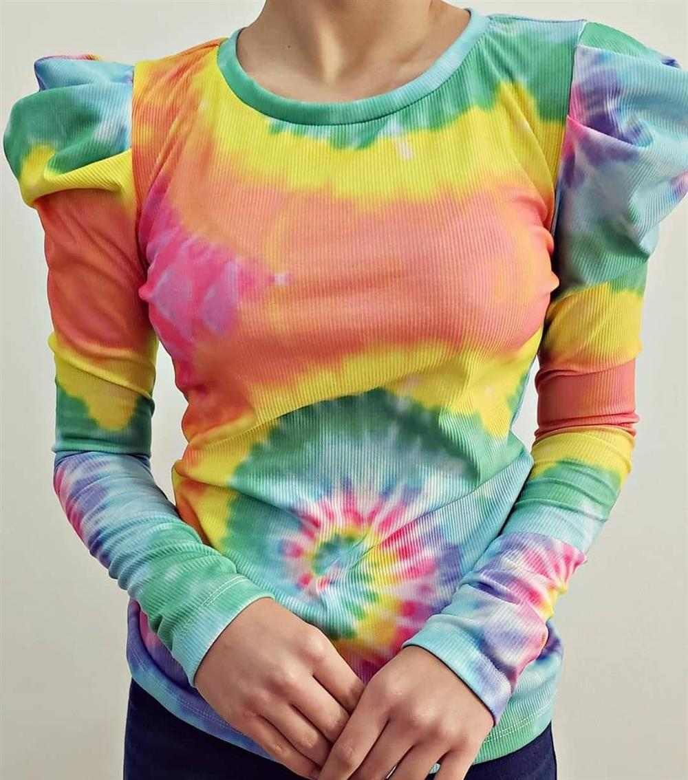 blusa mujer tie dye