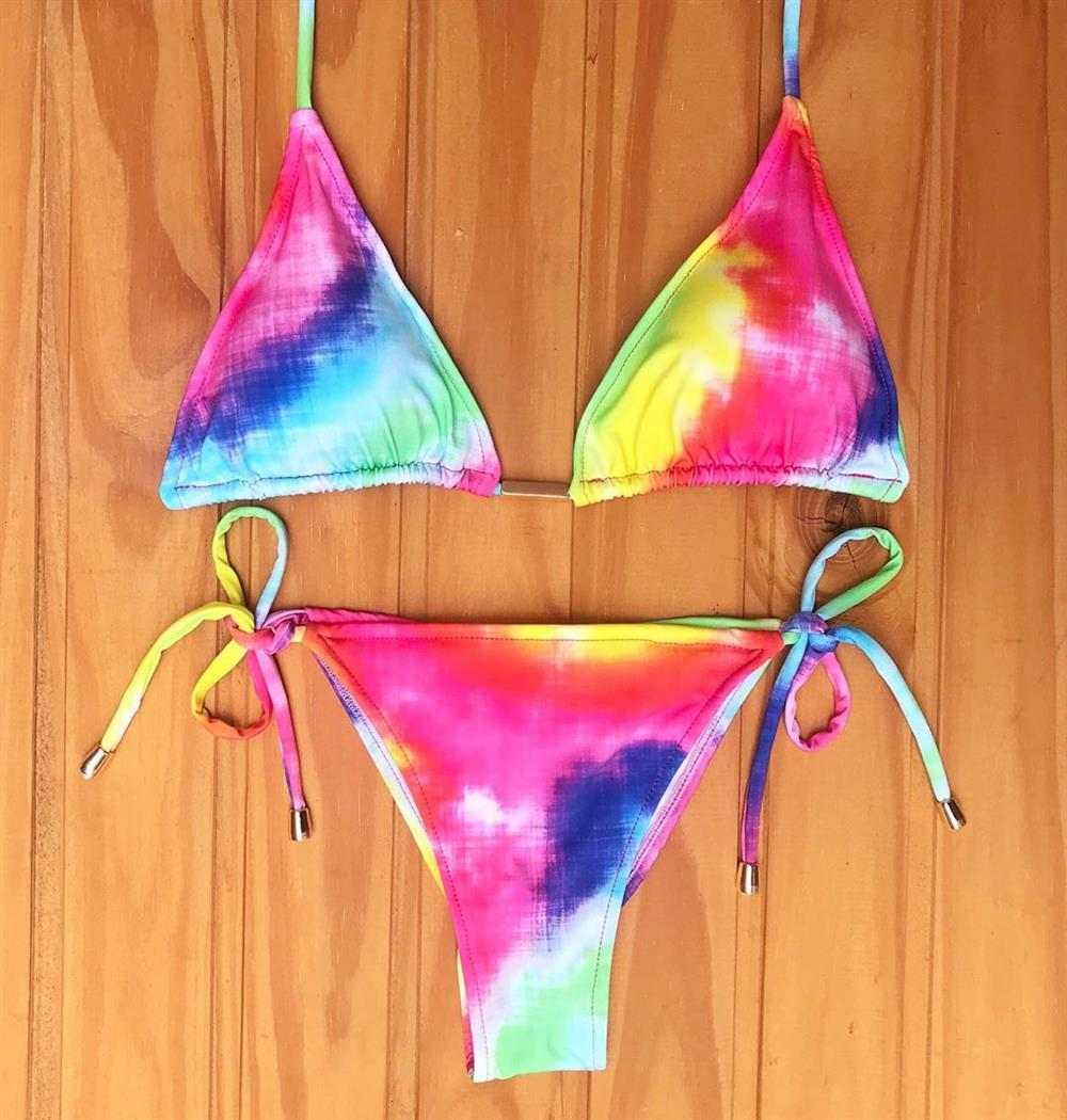 bikini tie dye
