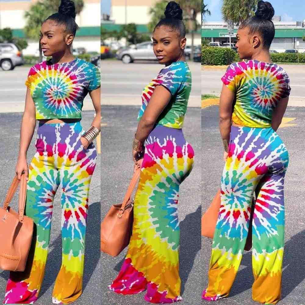 set tie dye para mujer