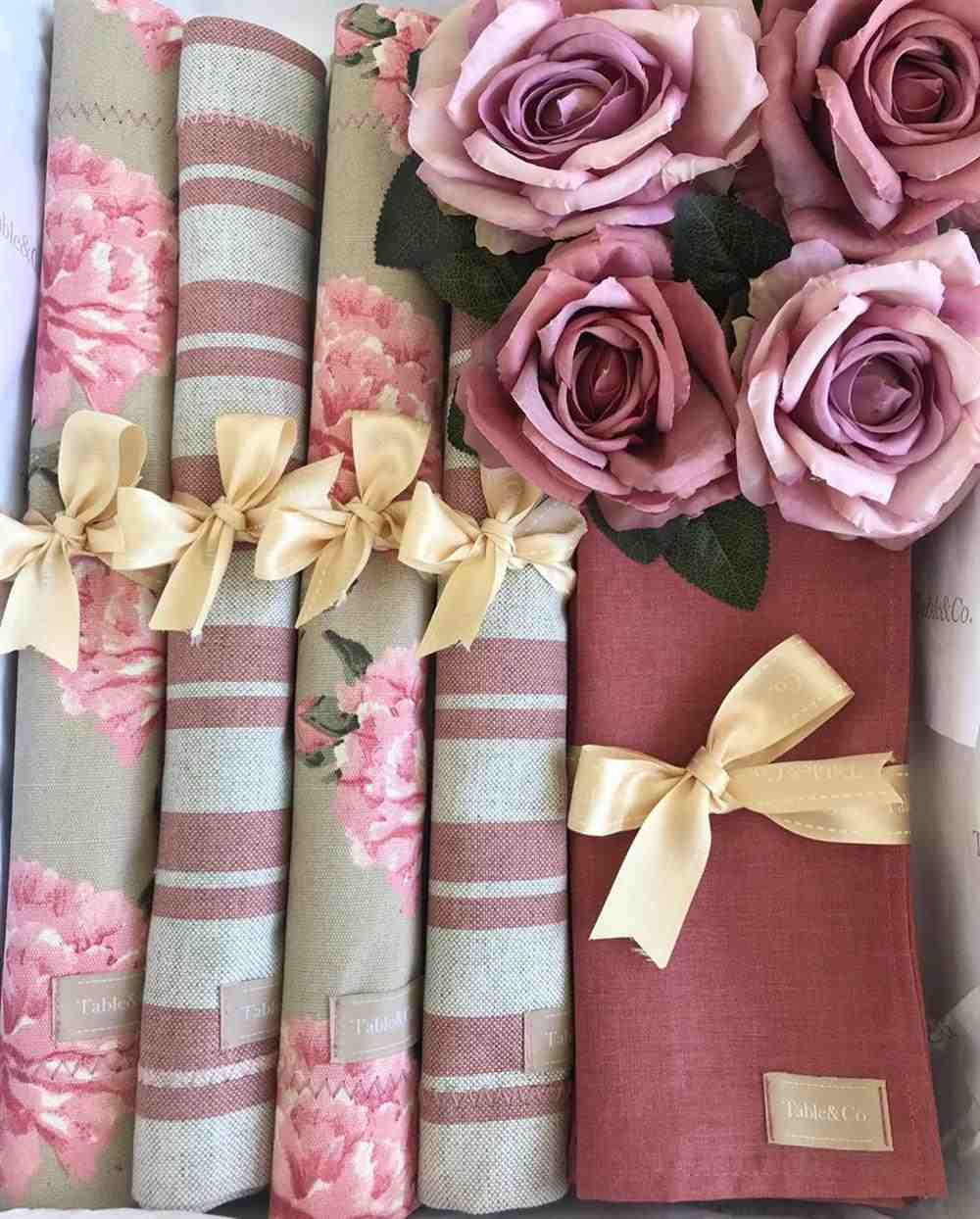 mantel individual de tela de doble cara
