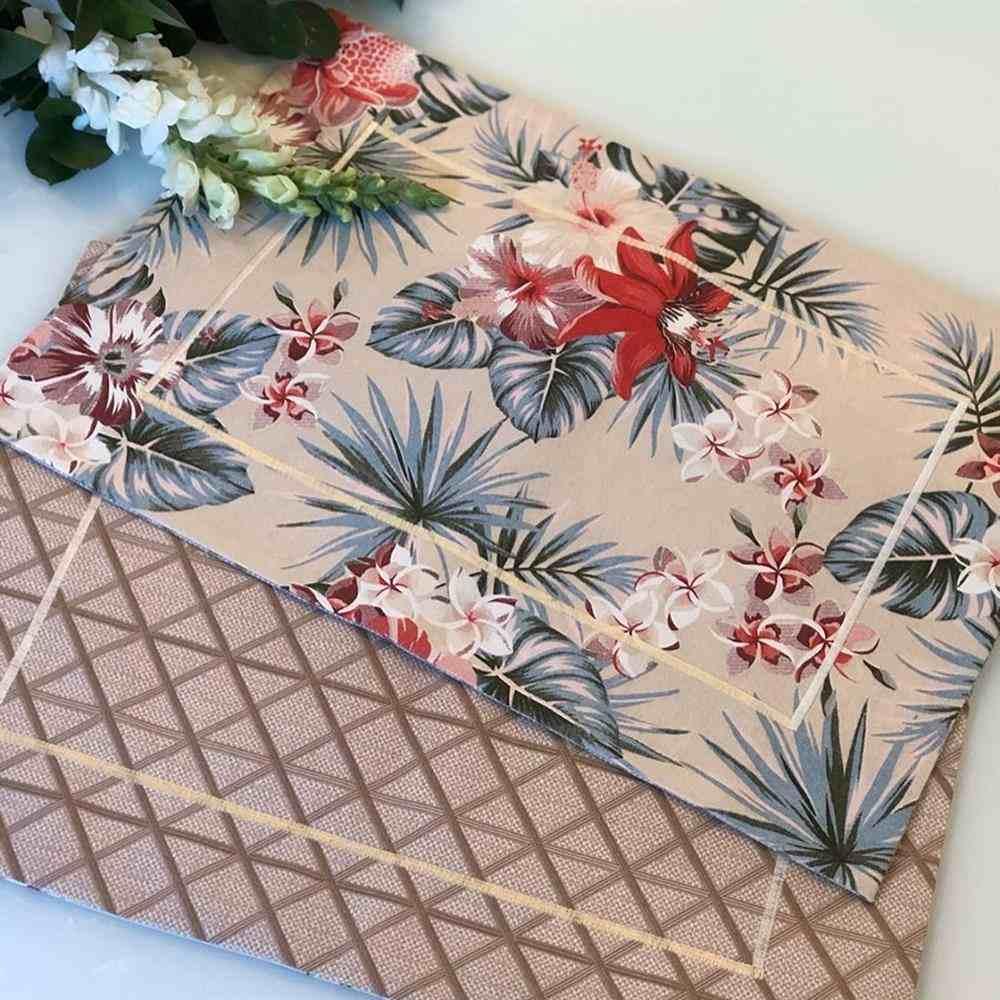 mantel de tela elegante