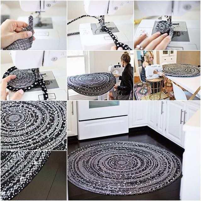 haciendo alfombra