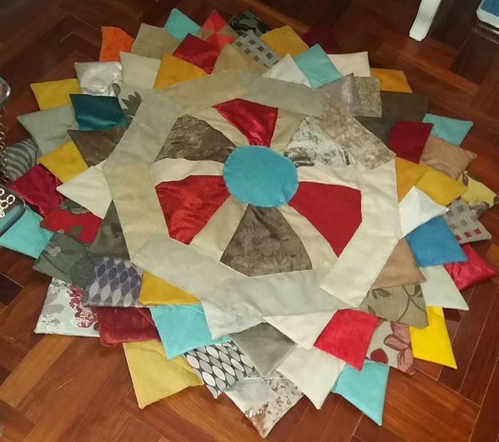 alfombra de tela al por menor
