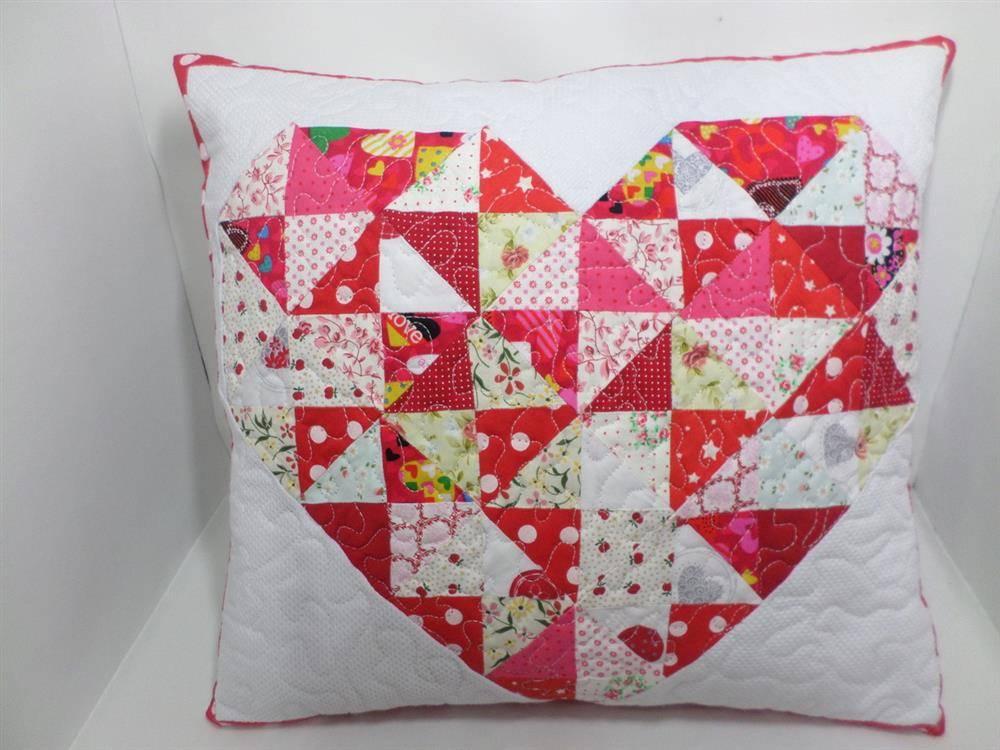 Costura de patchwork creativa