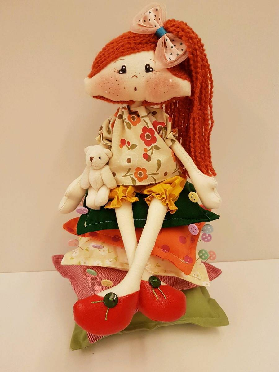 muñecas de costura creativas