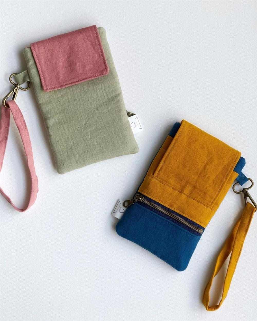 cartera de costura creativa