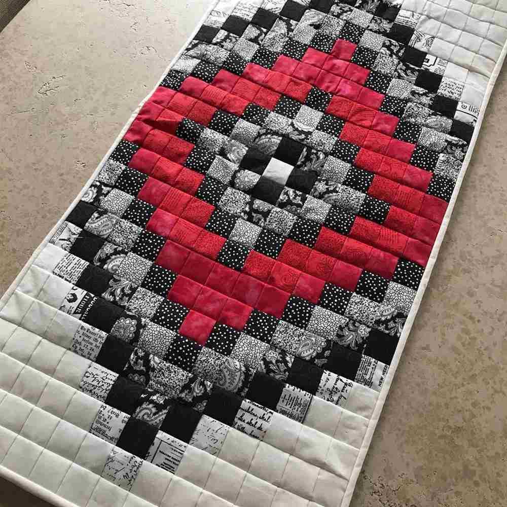 carril de mesa de tela
