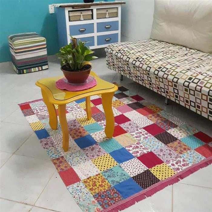 alfombra de colores al por menor