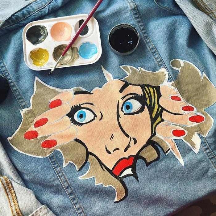 Personalizar ropa con pintura