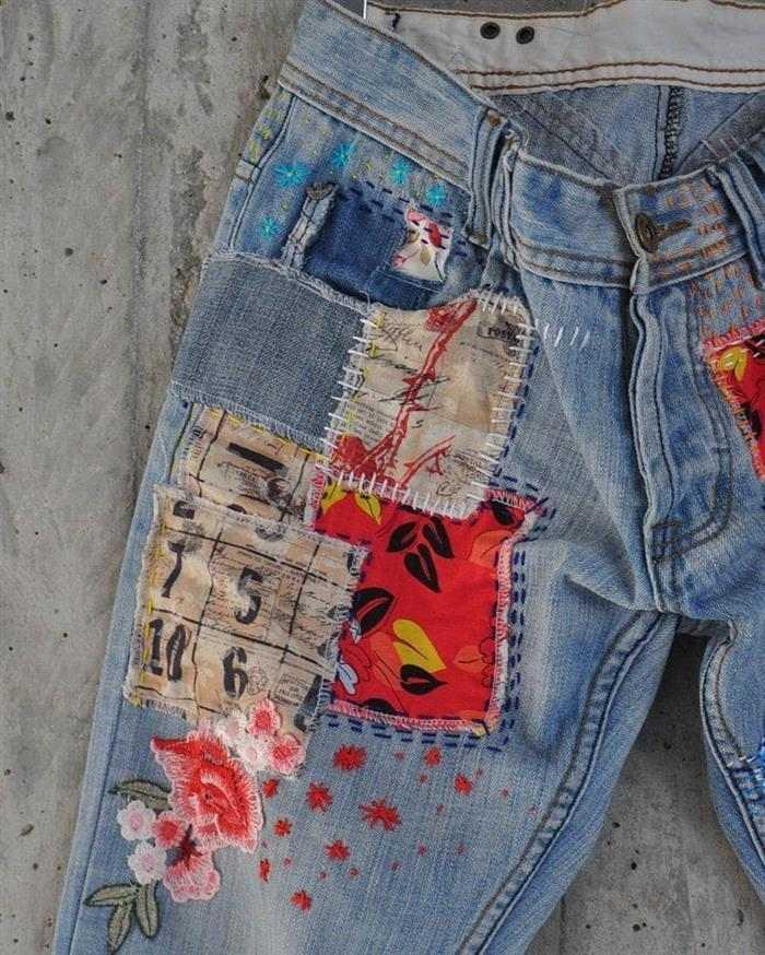 jeans de mujer personalizados