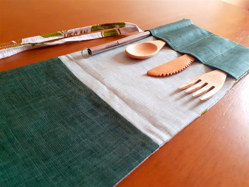 tejido individual para cubiertos