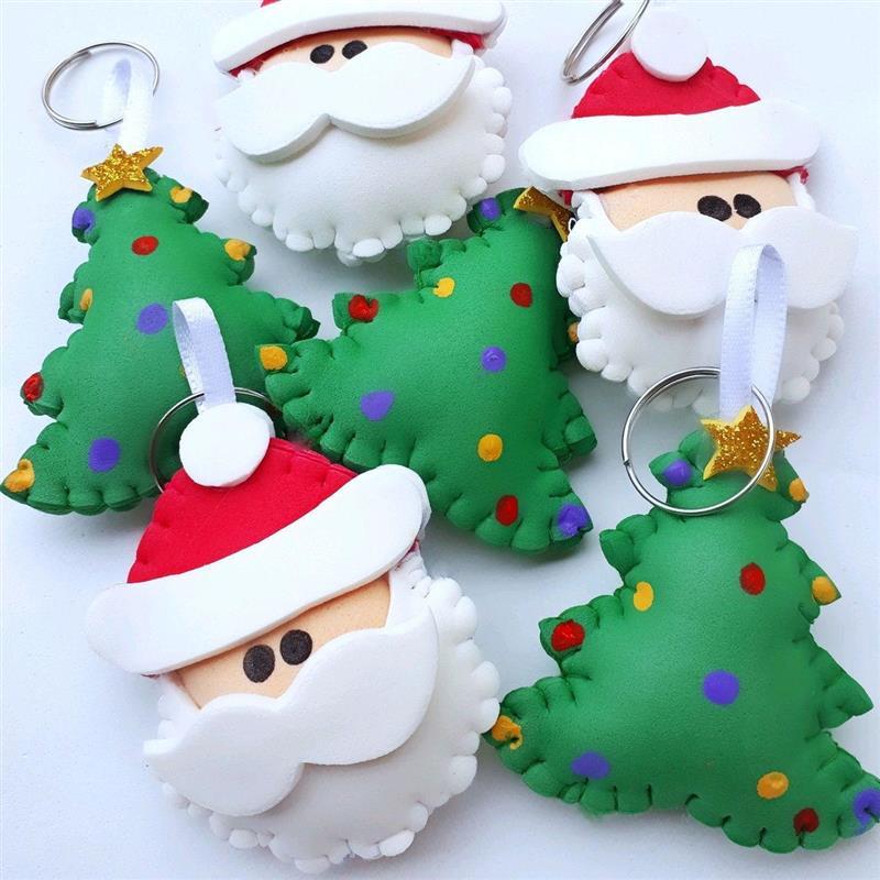 Llavero de EVA para Navidad