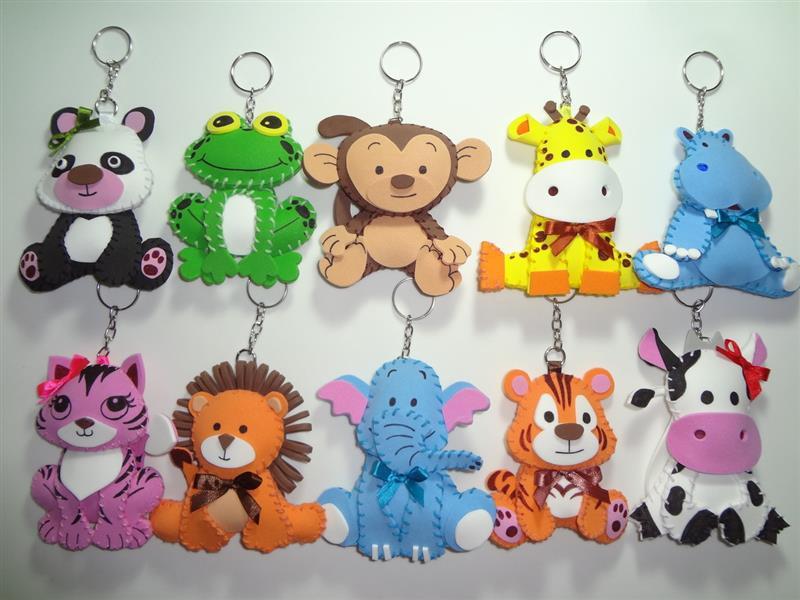 Mascotas de EVA con tema de Safari