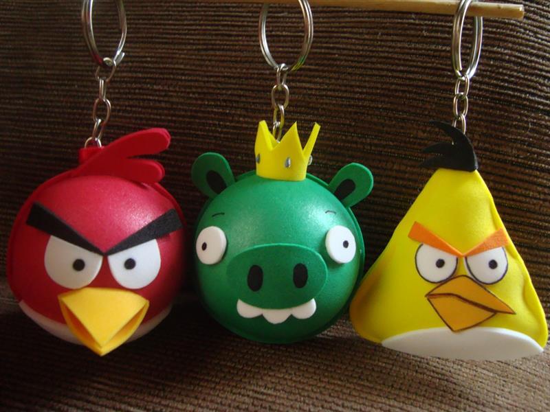 Recuerdo de Angry Bird