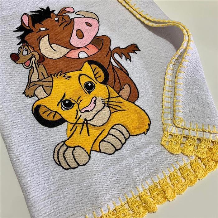 pintura de tela de plato de animales