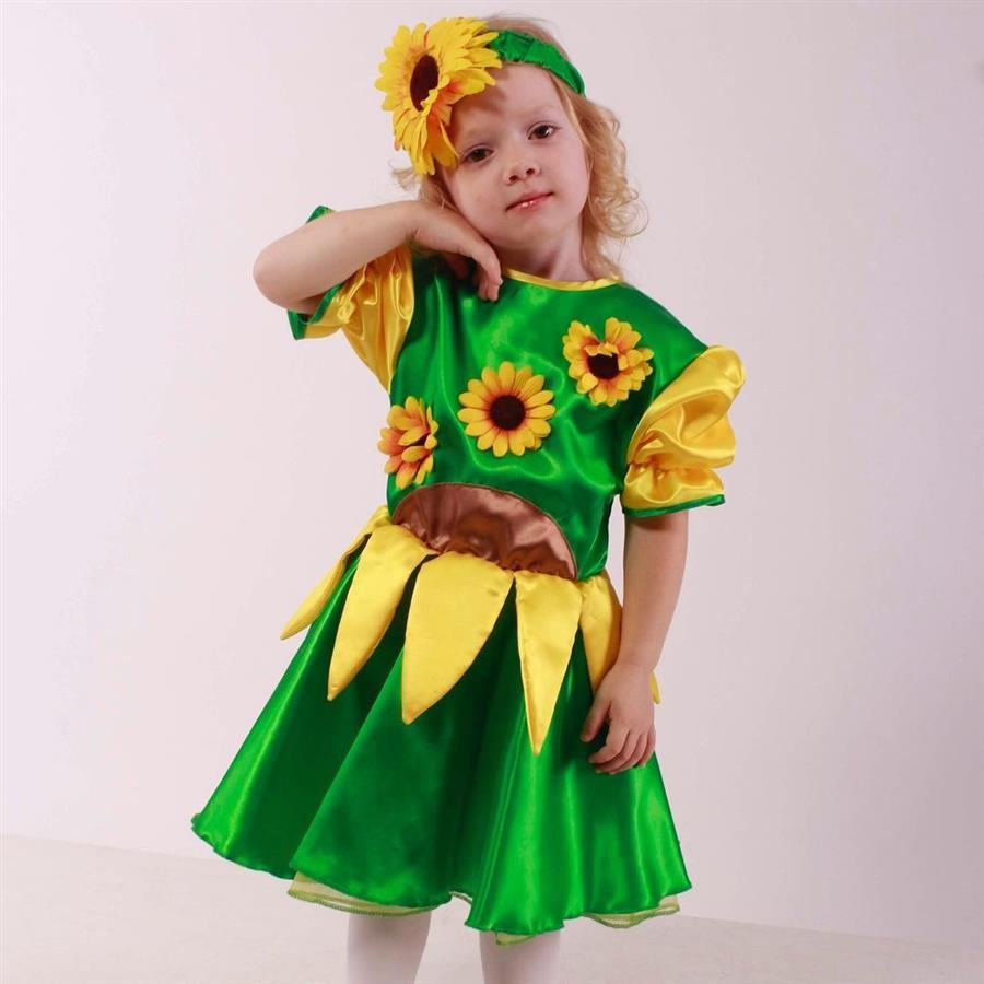 Disfraz infantil de satén