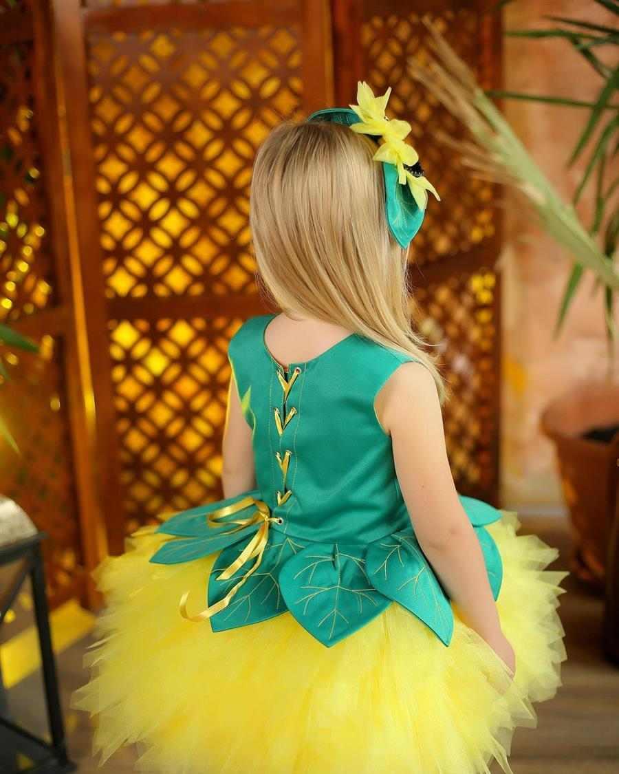 Disfraz infantil de girasol