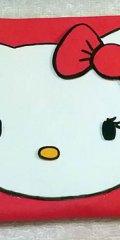 monedero goma eva Hello Kitty